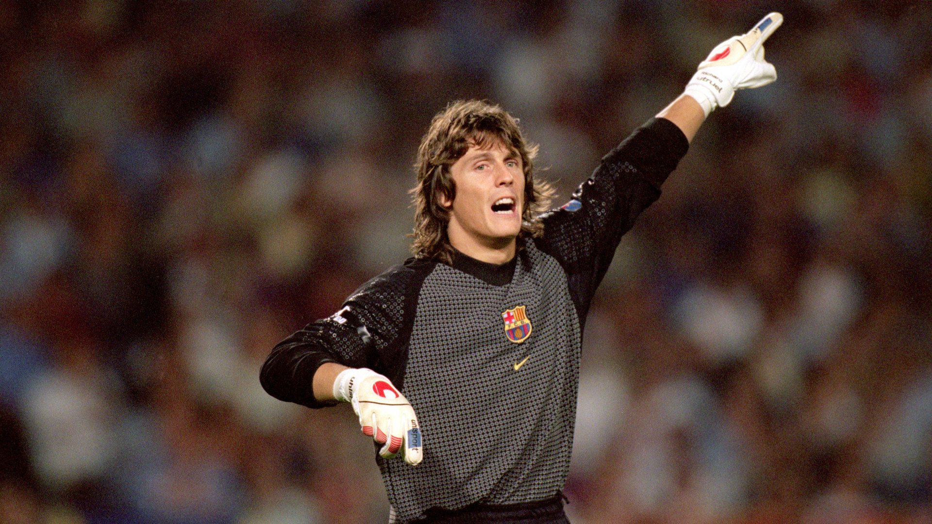Richard Dutruel ex Barcelona Goalkeeper