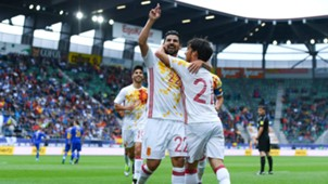 Nolito David Silva Spain Bosnia International Friendly