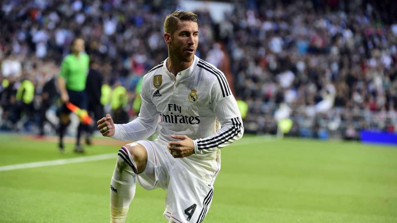 Sergio Ramos Real Madrid Malaga Liga BBVA 04182015