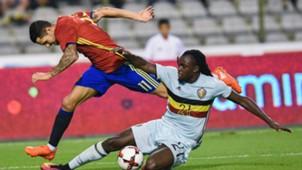 Vitolo Jordan Lukaku Belgium Spain friendly 09012016