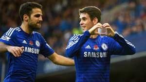 Cesc Fabregas Oscar Premier League Chelsea 01112014