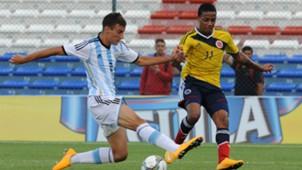Emanuel Mammana Jeison Lucumi Argentina U20 Colombia U20
