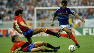 France vs Spain EURO 1984
