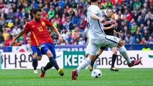Cesc Fabregas Spain Korea Friendly 01062016