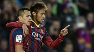 Alexis Sanchez Neymar Barcelona