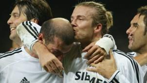 Zinedine Zidane David Beckham Real Madrid Albacete 11232003