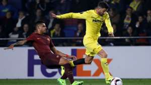 Emerson Palmieri Mateo Musacchio Villarreal Roma Europa League 16022017