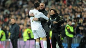 Jose Mourinho Cristiano Ronaldo Real Madrid La Liga 28022012