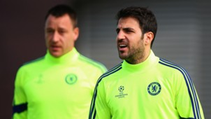 Cesc Fabregas John Terry Chelsea