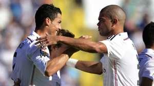 Cristiano Ronaldo Pepe Real Madrid