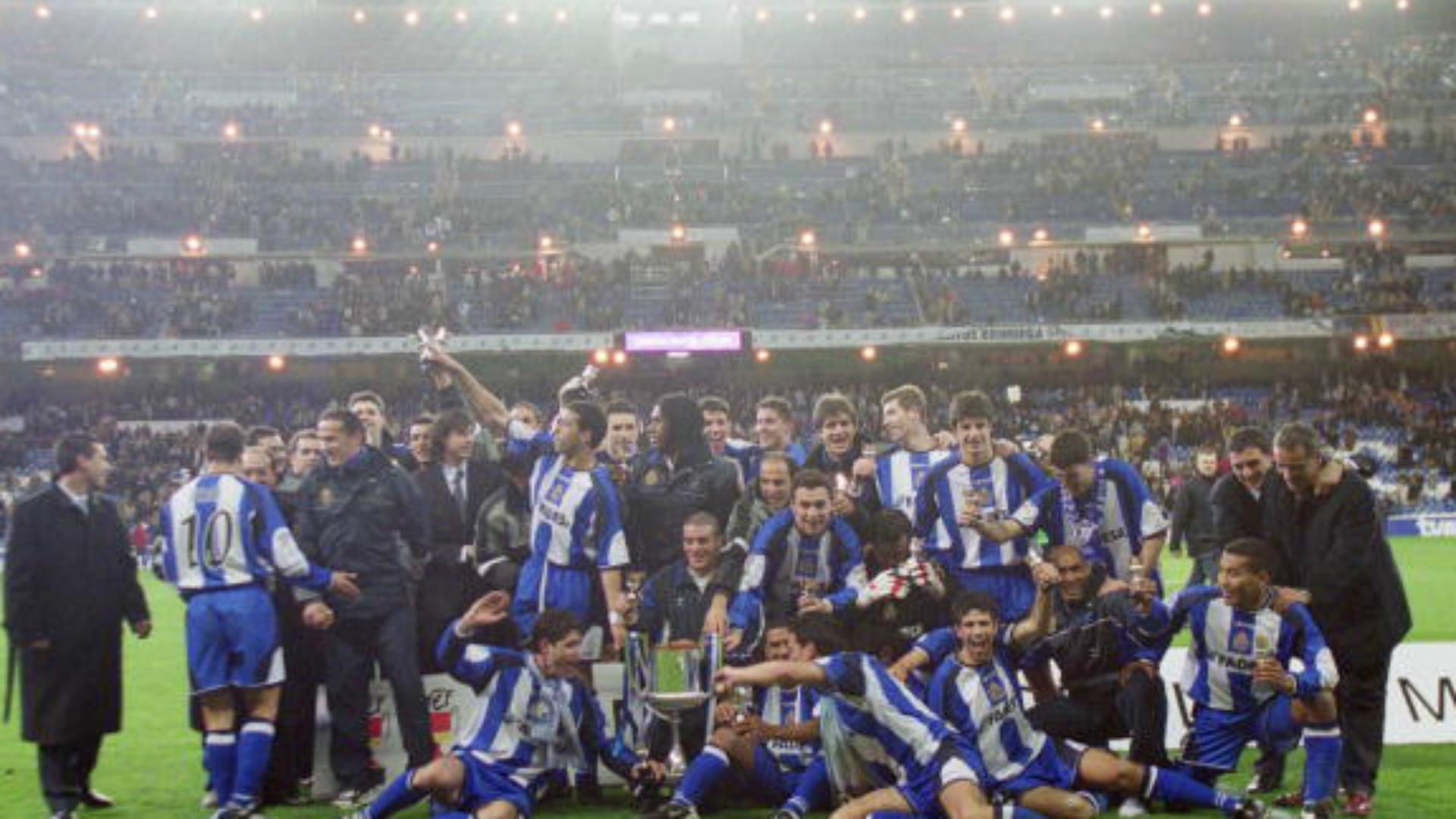 Real Madrid Deportivo La Coruña Final Copa del Rey 2002