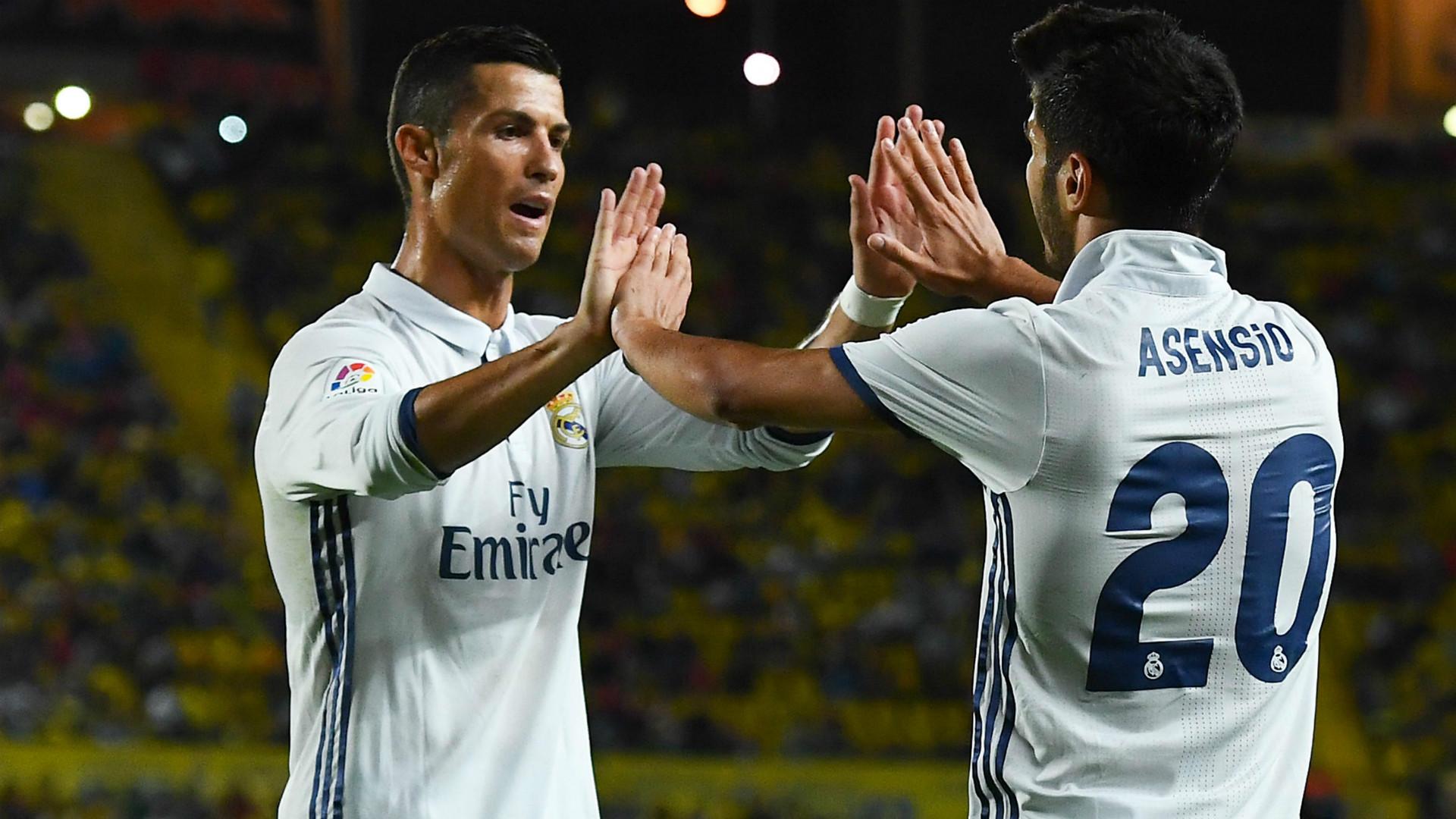 Cristiano Ronaldo Marco Asensio Las Palmas Real Madrid LaLiga