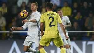 Cristiano Ronaldo Mario Gaspar Villarreal Real Madrid LaLiga 26022017
