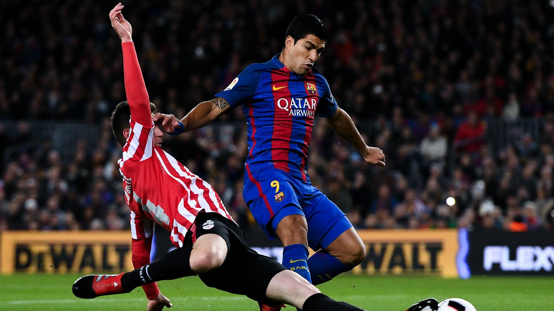 Aymeric Laporte Luis Suarez Barcelona Athletic Bilbao Copa del Rey 1112017
