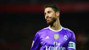 Sergio Ramos Sevilla Real Madrid La Liga 15012017