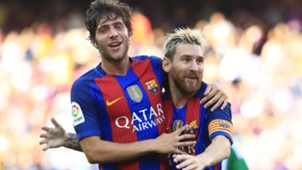 Lionel Messi Sergi Roberto Barcelona Betis La Liga