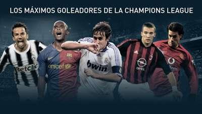 GFX Champions League greatest goalsocrers