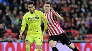 Aymeric Laporte Nicola Sansone Athletic Bilbao Villarreal La Liga