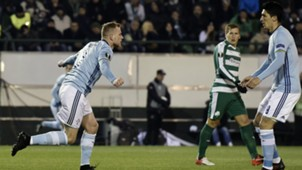 John Guidetti Panathinaikos Celta Europa League