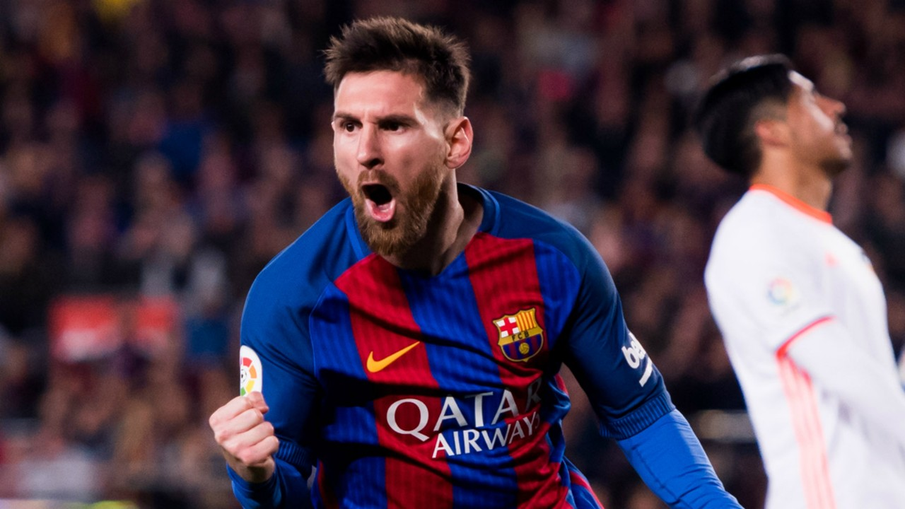 Lionel Messi Barcelona Valencia La Liga