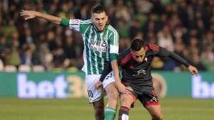 Dani Ceballos Fabian Orellana Real Betis Celta Vigo La Liga 05122015