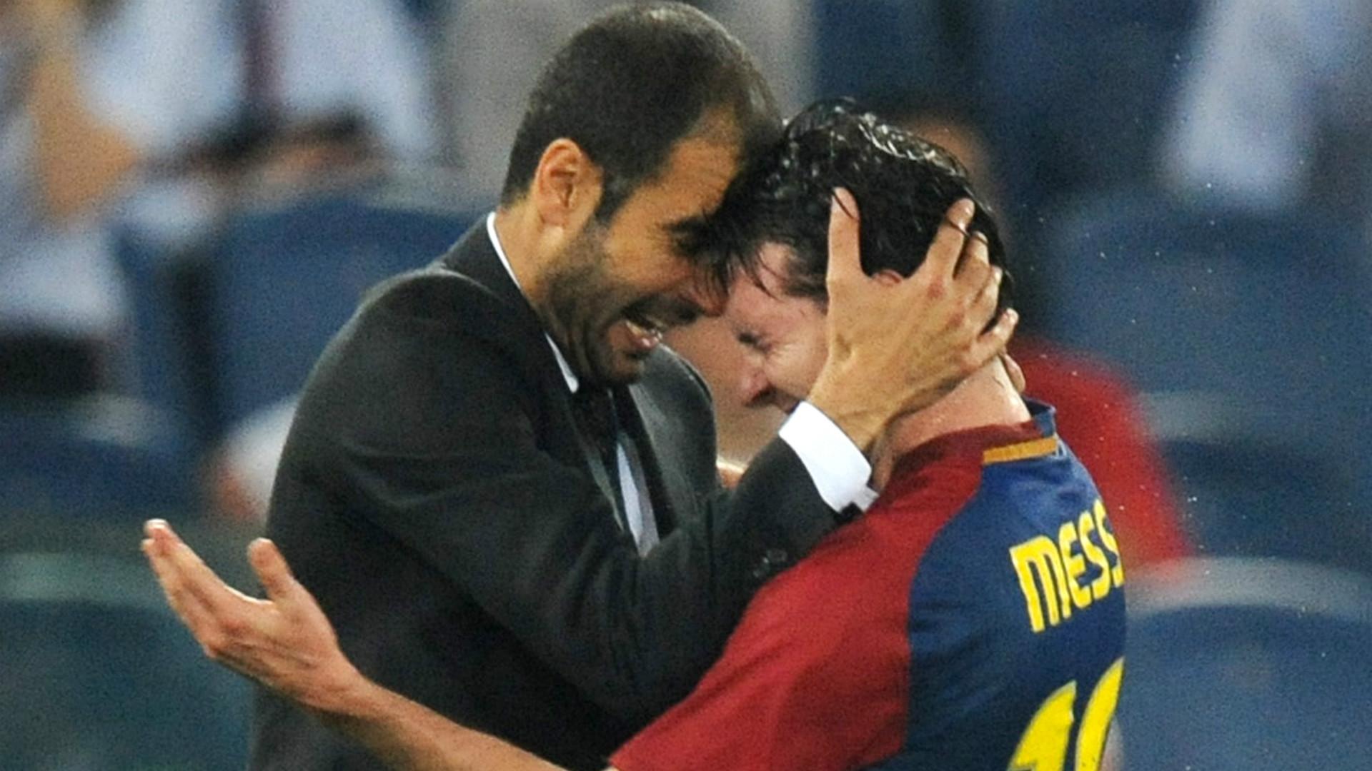 Messi Guardiola