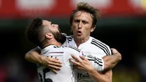 Dani Carvajal Luka Modric Villarreal Real Madrid La Liga