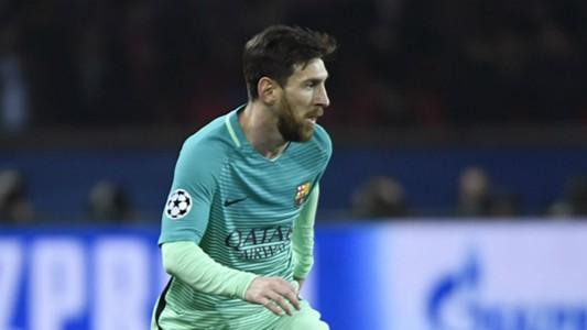 Lionel Messi PSG Barcelona Champions League
