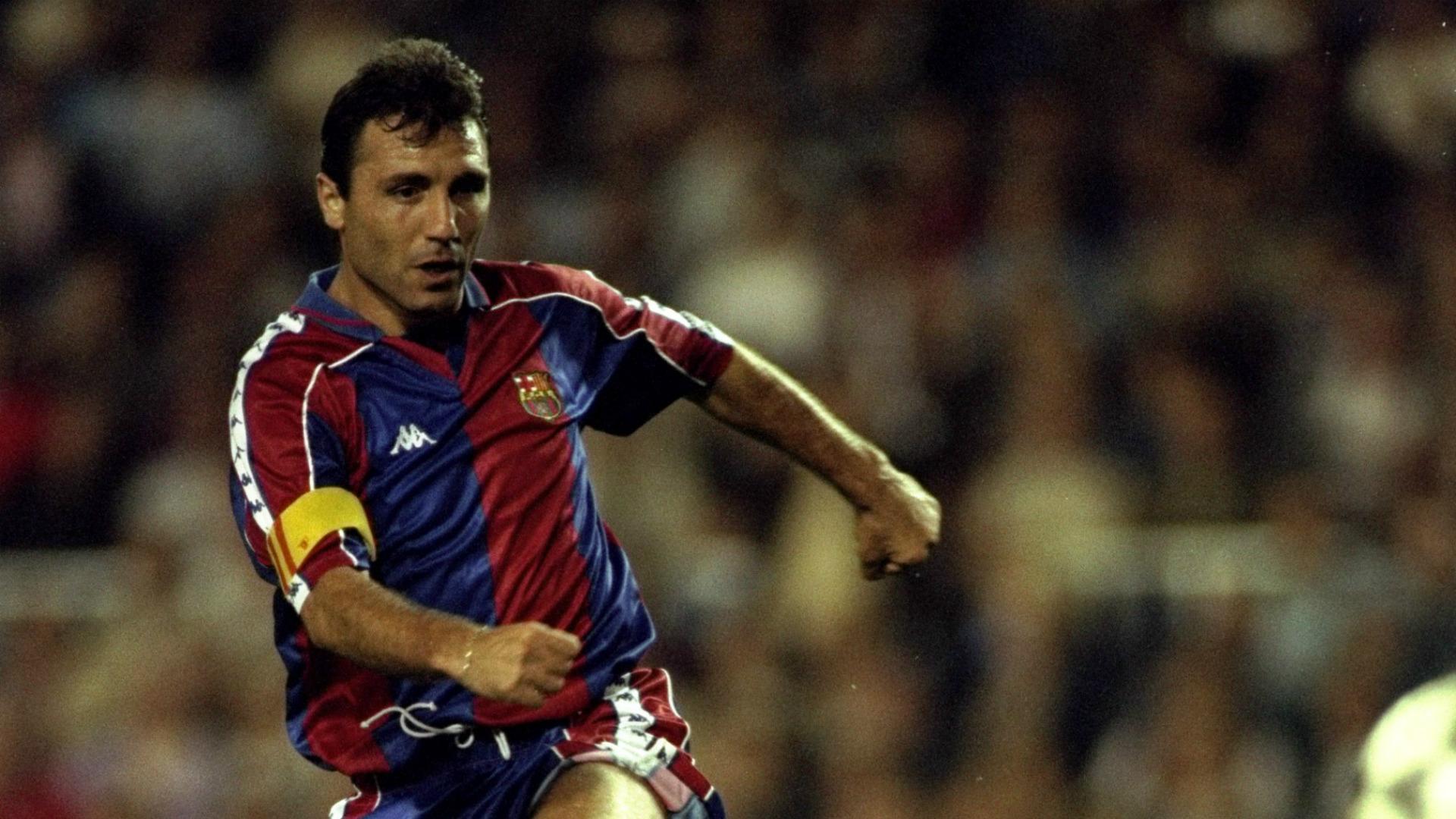 Hristo Stoichkov ex Barcelona player