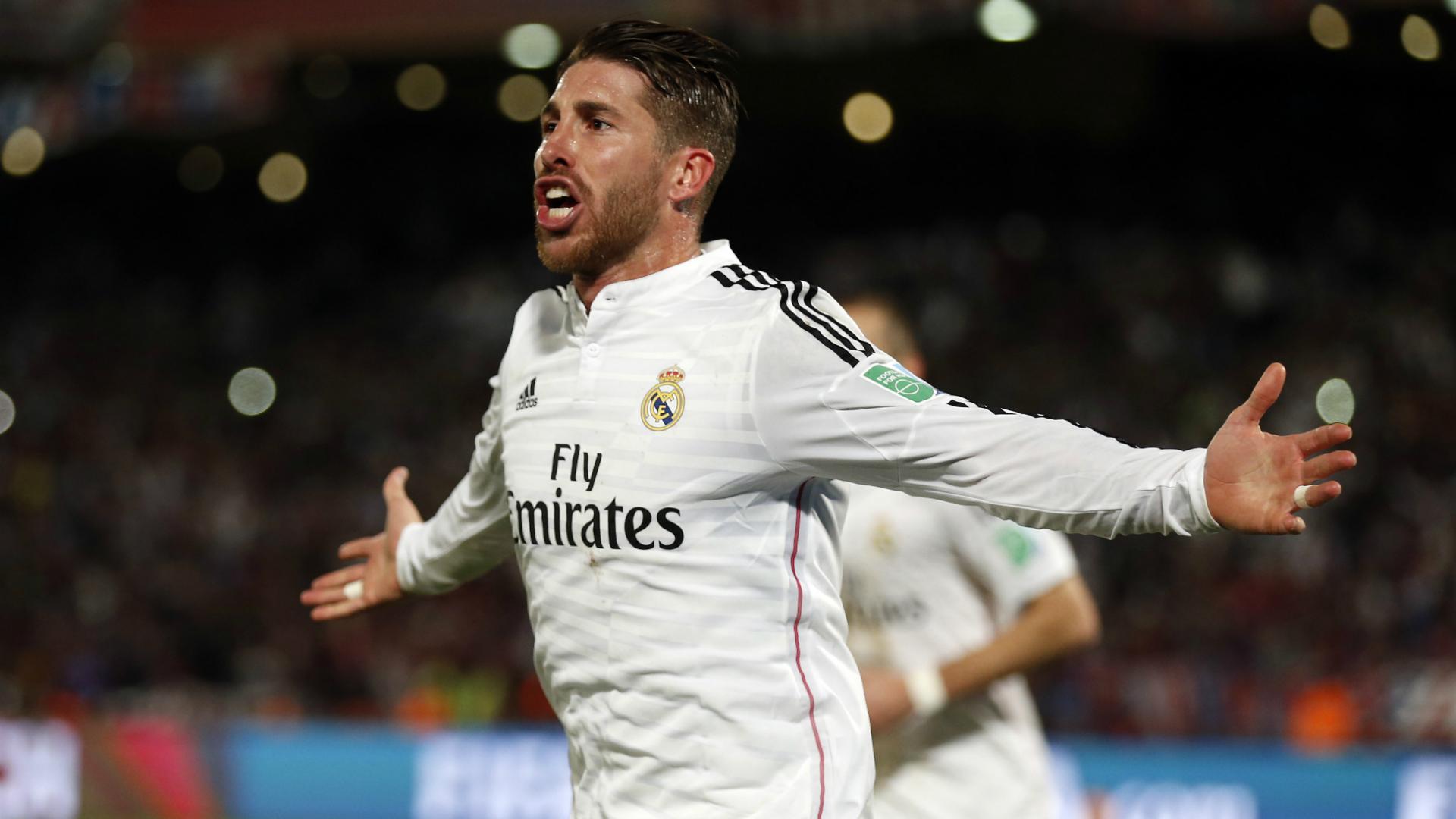 Sergio Ramos Real Madrid San Lorenzo