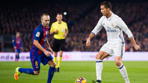 Andres Iniesta Sergio Ramos Barcelona Real Madrid La Liga
