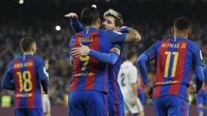Neymar Luis Suarez Messi Barcelona Real Madrid La Liga