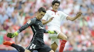 Kepa Arrizabalaga Carlos Fernandez Athletic Club Sevilla LaLiga.