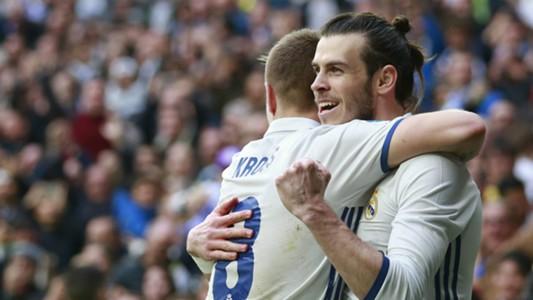 Toni Kroos Gareth Bale Real Madrid Espanyol LaLiga