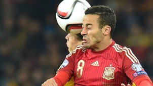 Thiago Alcantara Ukraine Spain Euro Qualifier