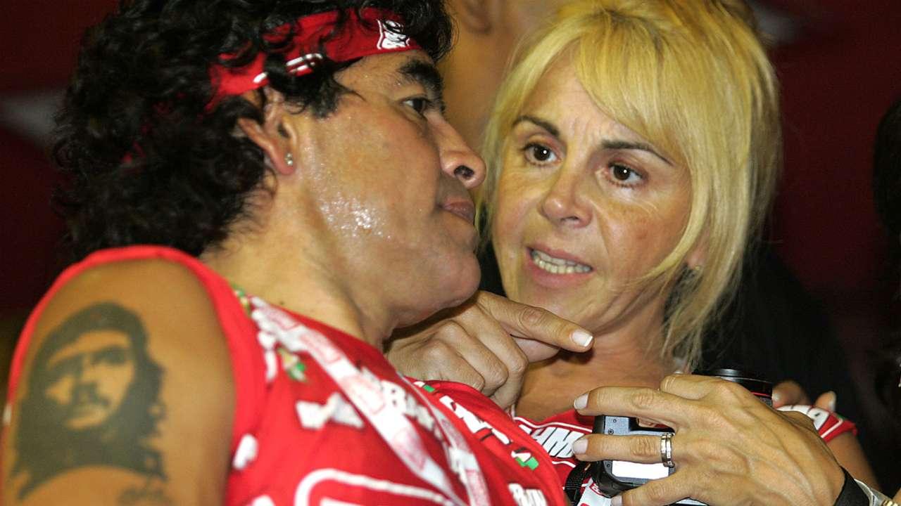 Diego Maradona Tatoo