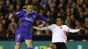 Gareth Bale Joao Cancelo Real Madrid Valencia