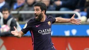 Arda Turan Deportivo Coruna Barcelona La Liga