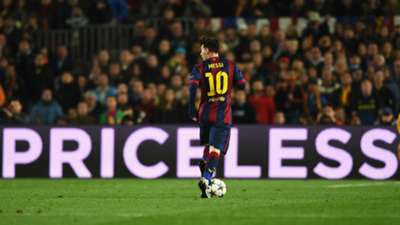 Lionel Messi Barcelona Manchester City UEFA Champions League 18032015