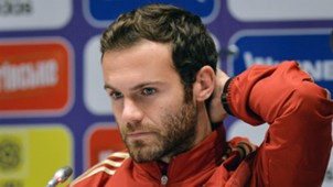 Juan Mata Spain Ukraine press conference