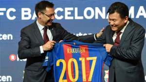 Josep Maria Bartomeu FC Barcelona Rakuten