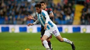 Duje Cop Jonny Otto Malaga Celta Vigo La Liga 02012016