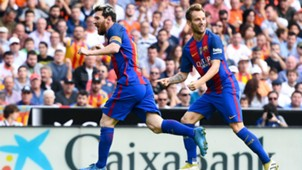 Lionel Messi Ivan Rakitic Valencia Barcelona LaLiga 22102016
