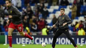 Steven Gerrard Real Madrid Liverpool UEFA Champions League 11042014