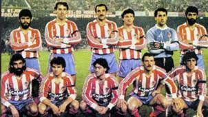 SPORTING GIJON BARCELONA 1987