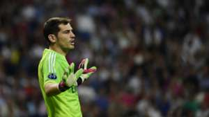 Iker Casillas Real Madrid Basel UEFA Champions League
