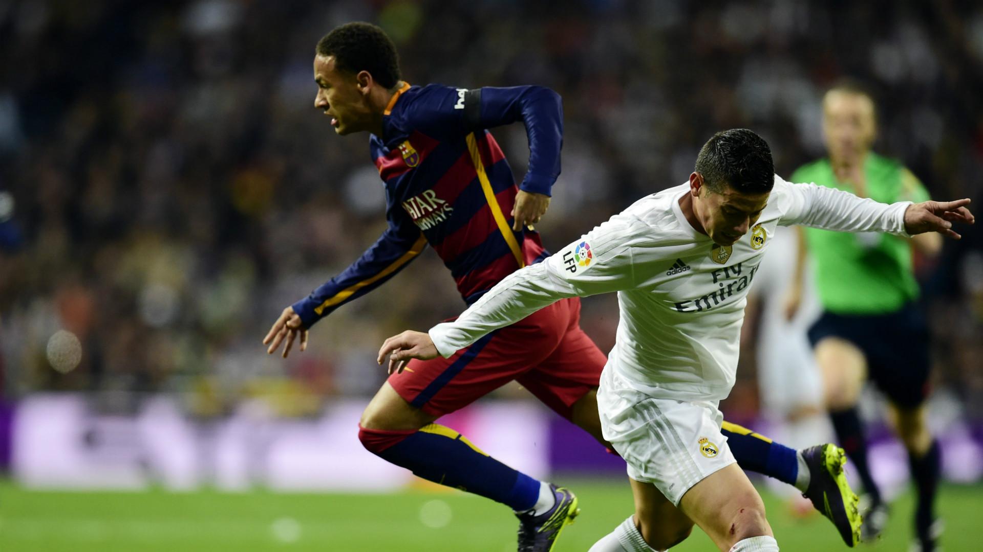 James Rodriguez Neymar Real Madrid Barcelona La Liga