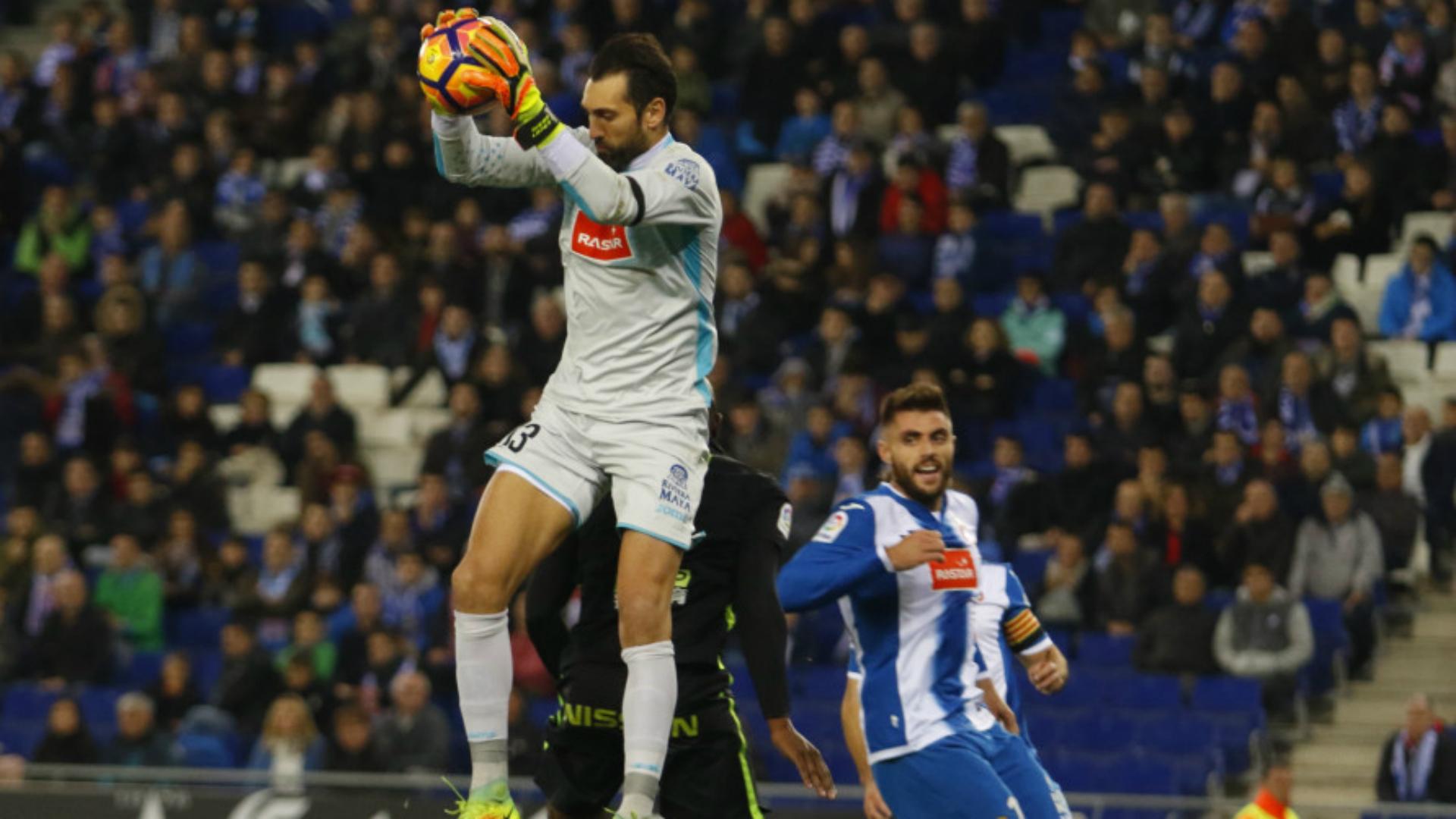 Espanyol Sporting Gijon Diego Lopez