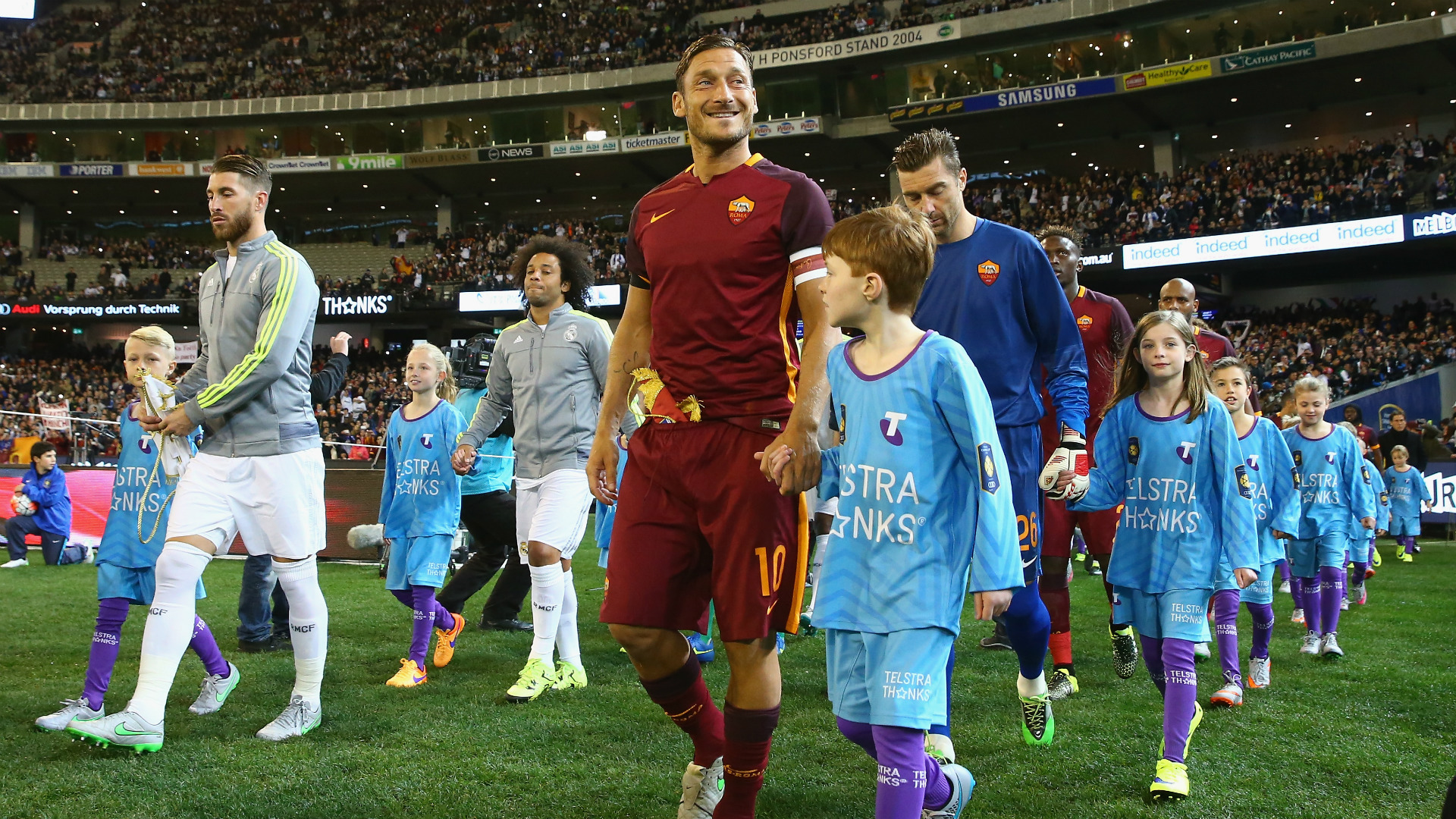 Francesco Totti Real Madrid Roma International Champions Cup 07182015
