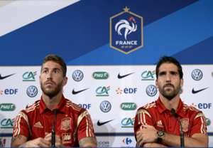Sergio Ramos & Raul Garcia Spain 09032014